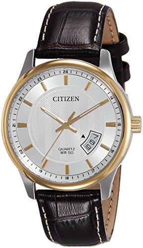 Citizen Analog White Dial Men's Watch - BI1054-12A
