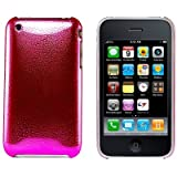 Logotrans Rain Series Coque rigide pour Apple iPhone 3G/3GS Rose (Import Allemagne)