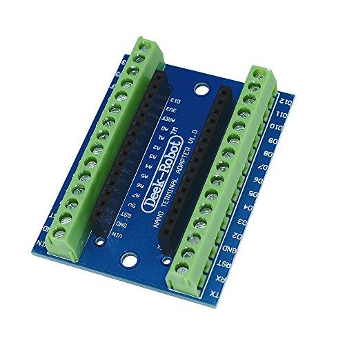 GeekerChip 3 x Mini Nano V3.0 ATmega328P 5V 16M Micro Controlador M/ódulo para Arduino Nano V3.0