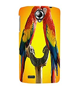 perfect print Back cover for Lenovo S820