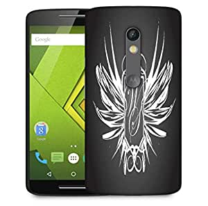 Snoogg Abstract Wings Designer Protective Phone Back Case Cover For Motorola Moto X Play