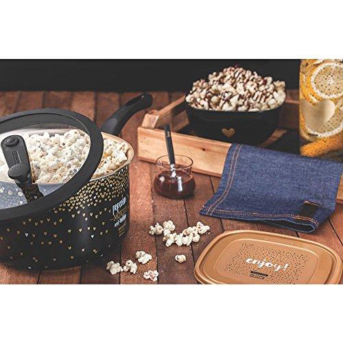 Tramontina Unisex Popcorn Maker, Dark Gold, M
