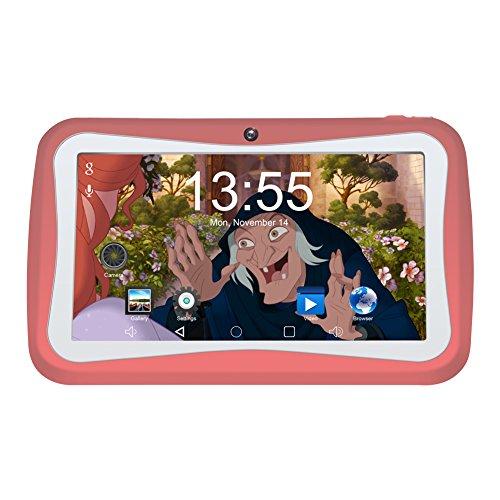 Kivors Kids Kinder Tablet 1G RAM Und 8G ROM-Speicher Android Quad Core 1.2 GHz Mit Spezialangebot 7 Zoll Tablet Für Kids (Hohe Konfiguration)