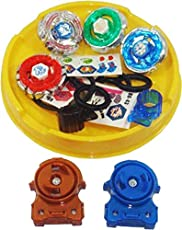 Charnalia Toys Beyblade Toy Set with Ripchord Launcher (4 Blade, Beyblade)