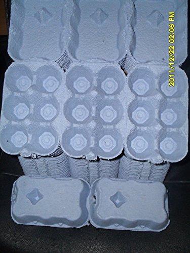 100 X 1/2 DOZEN EGG BOXES NEW (BLUE COLOUR) Test