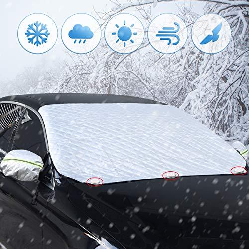 Sotical-Copertura-per-Parabrezza-Auto-Copertura-Parabrezza-con-Copertura-specchietto-retrovisore-Inverno-Anti-Neve-Impermeabile-Anti-Gelo-Auto-Copriparabrezza192-x-120cm