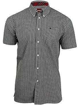 Merc -  Camicia Casual  - A quadri - Maniche corte  - Uomo