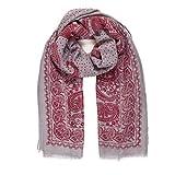 Melifluos Pañuelos Fular Foulard Mujer Bufandas Estampado Diseño Español 100% Viscosa (NF46-4)