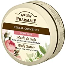 Green Pharmacy Crema Cuerpo de Rosa Mosqueta y Té Verde 200ml