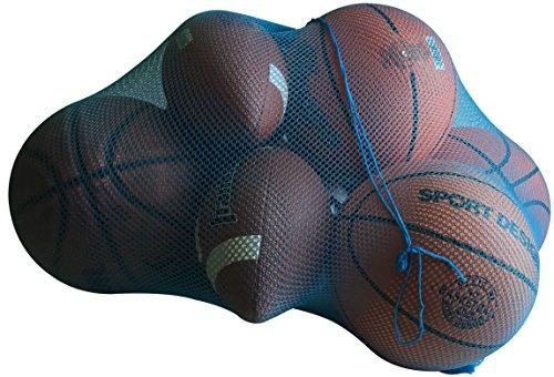 NewEarthProducts Mesh Sport Ausrüstung Tasche, Set von 2Staubbeutel (Bright Blau, 36x 24)