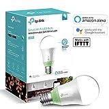 TP-Link smarte WLAN Glühbirne, E27, 10W, funktioniert mit Amazon Alexa (Echo und Echo Dot), Google Home und IFTTT, dimmbar weich warmweiß, kein Hub erforderlich