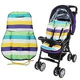 zhuotop Cute Wasserdicht Kissen Polsterung Liner Sitz Pad Rainbow für Baby Buggy Kinderwagen