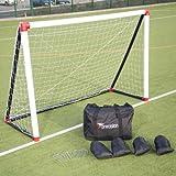 Precision Training aufblasbar Fußball Torpfosten (6' x 4')