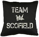 Touchlines Merchandise Team Scofield Kissen mit Füllung 40x40cm