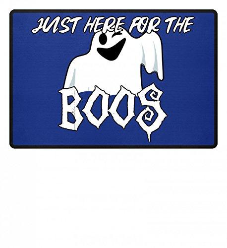 (Just Here For The Boos? Geist - Happy Halloween - Geschenk - Süßes oder Saures - Gift Idea - Fußmatte)