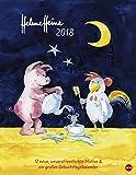 Helme Heine Edition - Kalender 2018 - Heye-Verlag - Wandkalender mit Geburtstagskalender - 34 cm x 44 cm