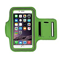 iphone 6s Armband (4.7Inch), Koly Running Sports Sweatproof Armband Gym Iphone 6/6s Arm Band Cover Case (Green)