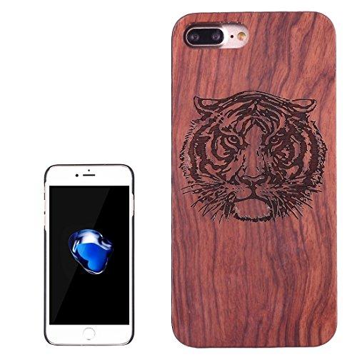 Hülle für iPhone 7 plus , Schutzhülle Für iPhone 7 Plus Artistic Carving Muster Rosewood + PC Bordure Schutzmaßnahmen zurück Fall Shell ,hülle für iPhone 7 plus , case for iphone 7 plus ( SKU : Ip7p14 Ip7p1451a