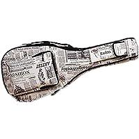 Gitarrentasche Dichte Oxford Nylon Gig Bag Gepolsterte Gitarrentasche für Konzertgitarre Akustik- und Klassikgitarre Wasserdicht Stoßfest