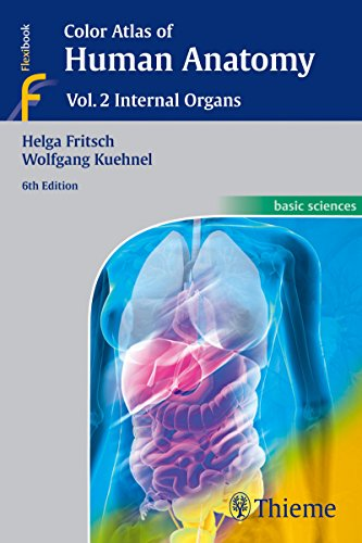 Color Atlas of Human Anatomy: Vol. 2 Internal Organs by Helga Fritsch (22-Oct-2014) Paperback