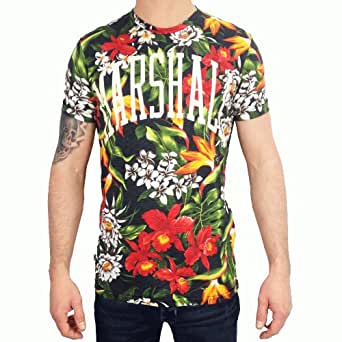 Franklin & Marshall TSMVA334S14 Queen's Garden Floral Graphic T-Shirt XX-Large