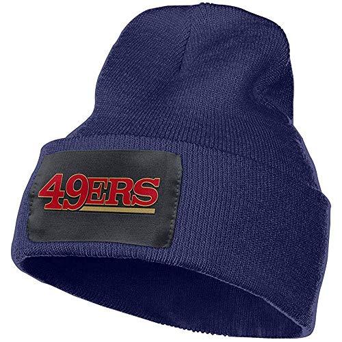 Dale Hill Unisex Winter Strickmütze Cap San Francisco 49ers Persönlichkeit Navy Cuffed Beanie Hat