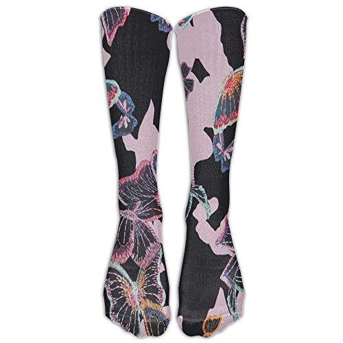 Poodle Pattern Unisex Funny Printed High Compression Socks Soccer Stockings