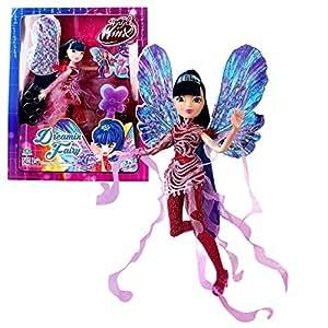 World of winx dreamix fairy musa poup e 28cm avec robe - Jeux de winx musa ...