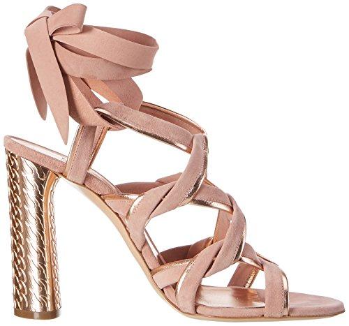 Casadei 1l573, Sandales Compensées femme Pink (Blush+Pandora)