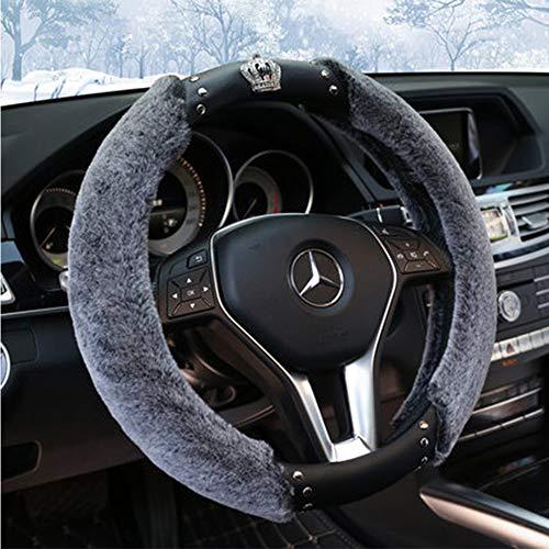 Winter Plüsch Lenkrad Deckel-Set Für Winter-Auto-Accessoires Innenraum Für Männer Frauen 14,96