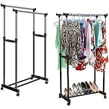 suchergebnis auf f r fahrbare garderobenst nder mit haken. Black Bedroom Furniture Sets. Home Design Ideas