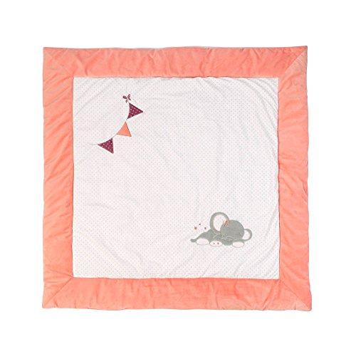 Nattou 424462 Spieldecke für Laufgitter,Adèle & Valentine, 100 x 100 cm