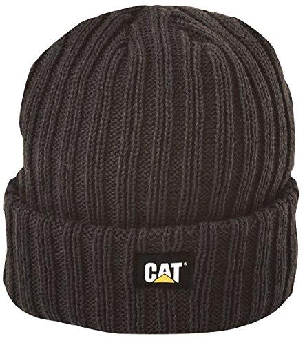 Caterpillar Cat Strickmütze Grob, Schwarz, Größe Uni Winter Watch Cap