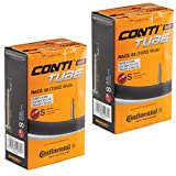 Continental Race 28 700 x 28-32c Bike Inner Tubes - Presta 42mm Valve (Pair)