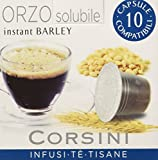 Caffè Corsini Caps Compatibili Nespresso Orzo - Totale 120 Capsule (12 Confezioni da 10 Capsule)