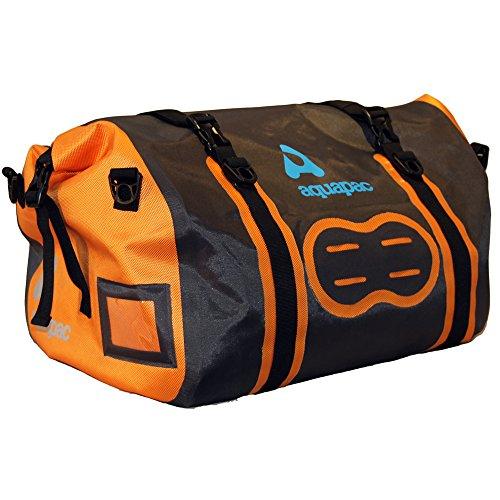 Aquapac Upano Waterproof 70L Duffle Bag grau-schwarz-orange