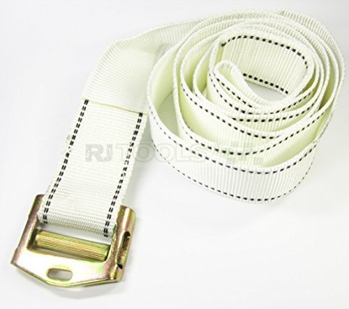 Preisvergleich Produktbild Spanngurt 45 mm mit Schnalle Gurtband Befestigungsriemen Zurrgurt 8 Meter (935133)