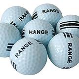 100x ToCi Crossgolfbälle Lakeballs | Ideal zum Crossgolfen | Rangebälle sind enthalten | Nicht für Golfplätze | Nur zum Crossgolfen