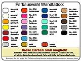 plot4u Wandtattoo Feuerwehr Löschzug in 9 Größen und 19 Farben (75x50cm schwarz) Vergleich