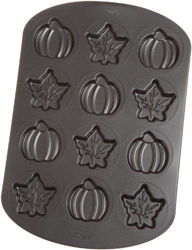 Wilton Backform für 12 Blätter und Kürbisse (Wilton Pan 12 Cake)