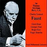 Gounod : Faust 1947/48. Beecham, G.-Boue, Nore, Rico, Bourdin.