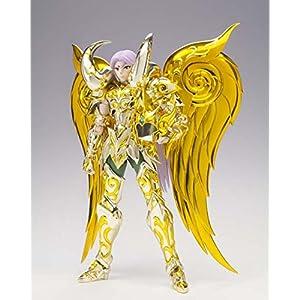 BANDAI Mu Armadura Aries New Cloth Figura 18 Cm Saint Seiya Myth Cloth Ex Soul of Gold