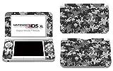 Skins4u Nintendo 3DS XL Skin Aufkleber Skin Folie Design Sticker komplett Set Schutzfolie - Urban Camo Crumble