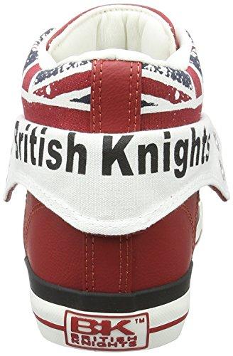 British KnightsROCO - Scarpe da Ginnastica Basse Uomo ROSSO/UNION JACK