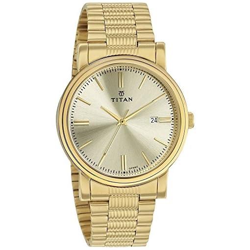 51rx7CY7QIL. SS510  - Titan 1712ym03 Mens Gold watch