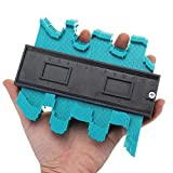 Konturenlehre konturmessgerät Klemmhebel 5.1''/130MM Mit Schloss Laminat Duplikator Profil Messwerkzeug unregelmäßiges laminatschneider für kreisförmige Rahmen