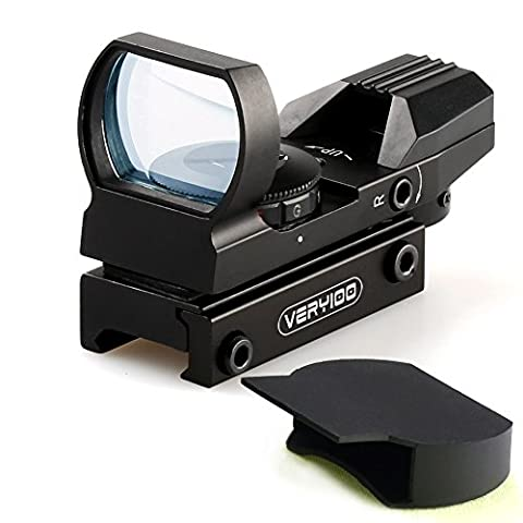 VERY100 1x22x32 Leuchtpunkt Visier Zielvisier Holographic 20mm Dot Sight