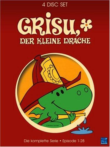 Grisu, der kleine Drache - Die komplette Serie (Episode 1-28) [4 DVDs]