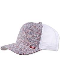 Djinns coloured Linen Trucker Cap Baseball Cap Mesh Cap