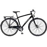 28 Crossrad Zoll Fuji Absolute City 1.3 Urban Herrenfahrrad, Rahmengrösse:54 cm, Farbe:Satin Black